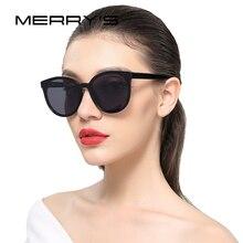 Merry's Для женщин классический Брендовая Дизайнерская обувь Солнцезащитные очки Винтаж кошачий глаз Солнцезащитные очки s'8094