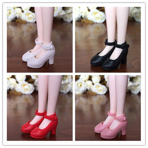 1/6 Fashion Shoes For Blyth Dolls 1/6 High Heel Shoes For Licca Doll Mini Shoes For Momoko 1/6 BJD Doll Accessories