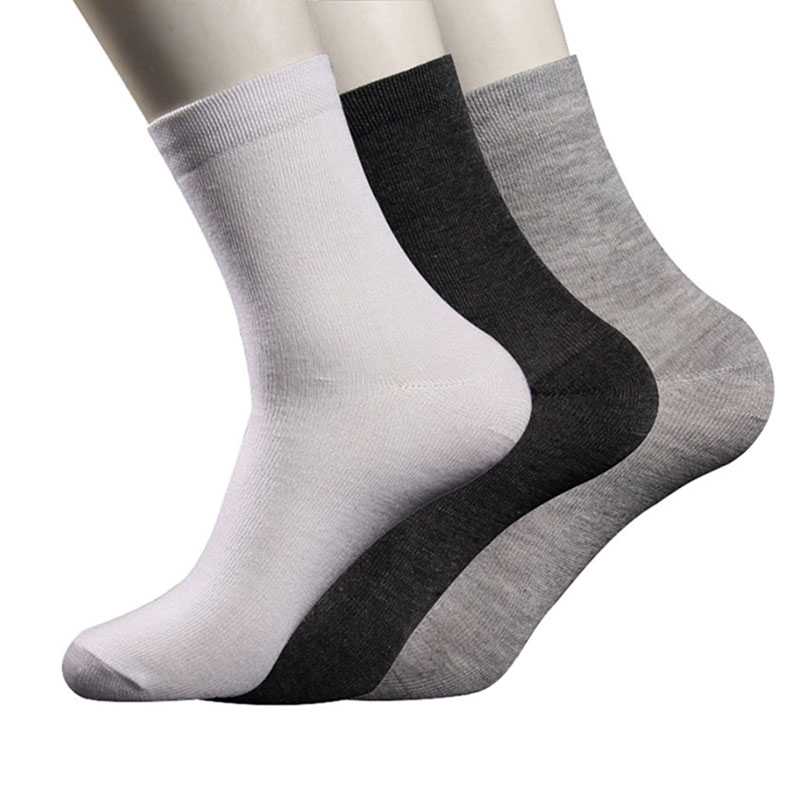 5 Pairs Men Socks Brand Quality Polyester Casual Comfortable Pure Colors Socks Fashion Shaping Breathable Short Sock Male Meias