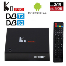 KII Pro Android 5.1 smart TV Box 2G/16G DVB-S2 DVB-T2 4 K * 2 K S905 Amlogic Quad-core WIFI KIIpro Inteligente Media Player Set Top Box