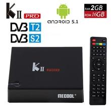 KII Pro Android 5.1 smart TV Box 2G/16G DVB-S2 DVB-T2 4K*2K Amlogic S905 Quad-core WIFI KIIpro Smart Media Player Set Top Box