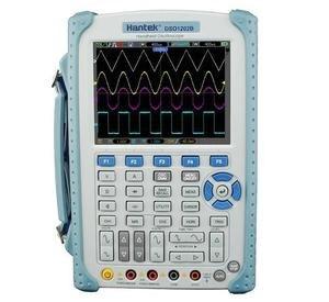 Image 1 - Hantek DSO1202B 2 Kênh Kỹ Thuật Số Dao Động 200 mhz Băng Thông Handeld USB Osciloscopio DMM Vạn Năng 1GSa/s Tỷ Lệ Mẫu