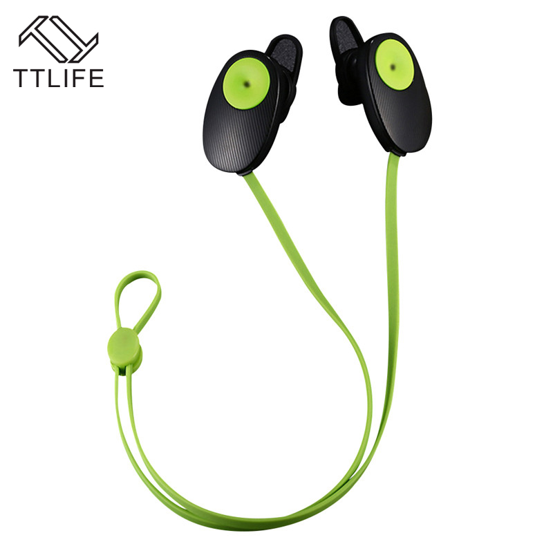 TTLIFE Sport Bluetooth V4.1 Earphone Sweatproof Headset Wireless headphones with MIC 80mAh For iPhone Xiaomi fone de ouvido ttlife mini bluetooth earphone usb car charger dock wireless car headphones bluetooth headset for iphone airpod fone de ouvido