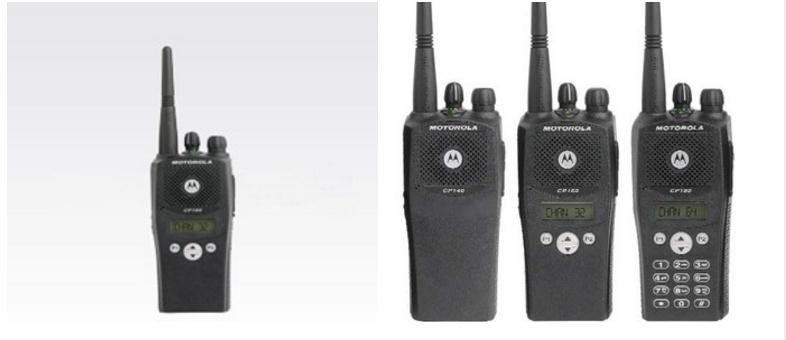 Motorola CP160 Commercial Portable walkie talkie With Built