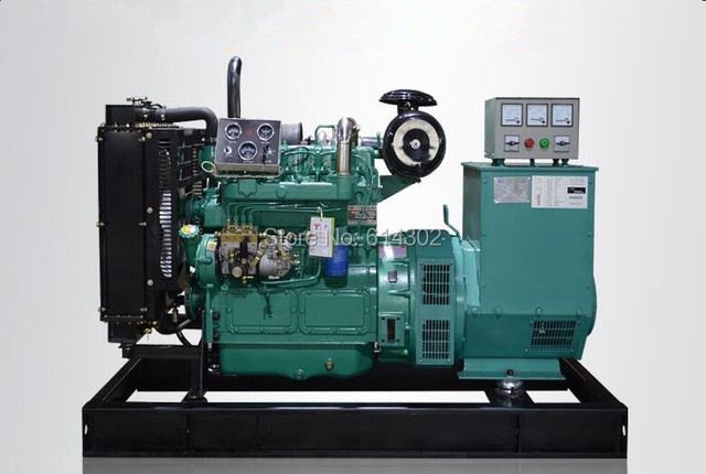China 60kw75kva diesel generator with brushless alternator with