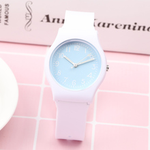 2017 New Brand Fashion Cute Simple Mini Women Watch Waterproof Jelly Sport Creative Children Watches For Girls Student Watch(China)