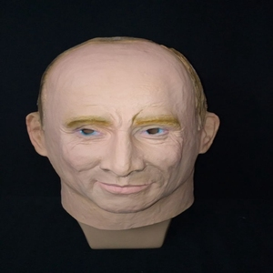 Image 3 - الرئيس الروسي فلاديمير بوتين قناع اللاتكس كامل الوجه هالوين أقنعة مطاطية حفلة تنكرية الكبار تأثيري الدعائم بدلة فاخرة