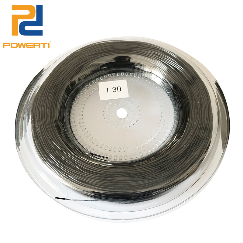 POWERTI 1.3mm 4G Tennis String Poly Training String Outdoor Sport Tennis Racket String 200m/reel free shipping 1pc taan tt8700 tennis string flexibility tennis racquet string soft poly string rackets string 1 1mm