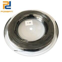 POWERTI 2 reels/lot 1,3mm 4g Tennis String Poly Ausbildung String Outdoor Sport Tennis Schläger String 200 mt/reel kostenloser versand