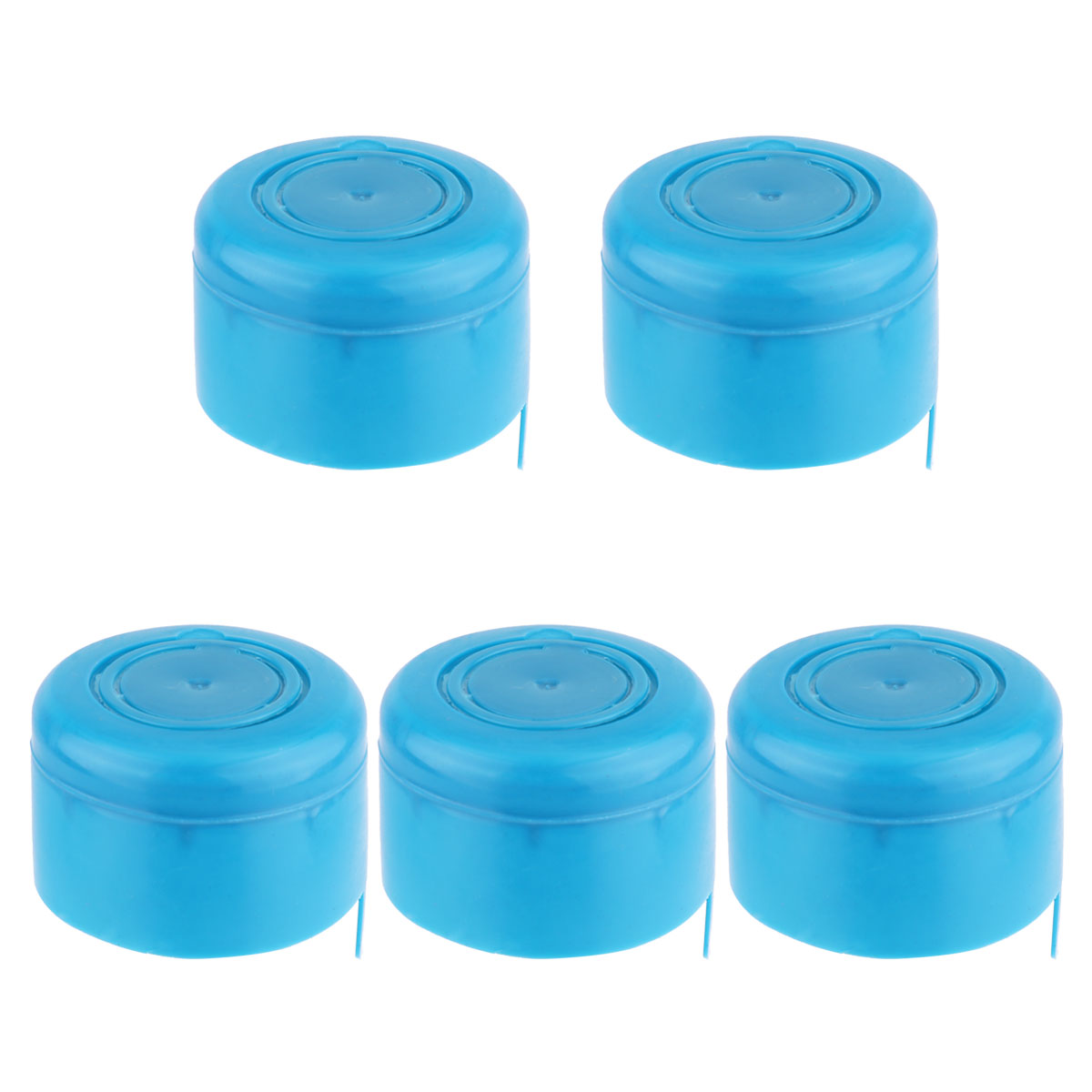 5Pcs Reusable Anti-Splash Non-Spill Water Bottle Caps Replacement 55mm 3 Gallon Water Jugs 5 Gallon Water Bottle Cap