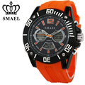 New Sport Watches for Men Dual Time LED Digital Quartz Watch Brand Fashion Casual Alloy Wristwatch reloj hombre Men Gifts WS1035