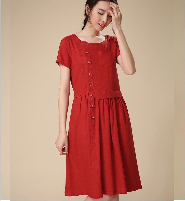 Compare Prices on Designer Linen Dresses- Online Shopping/Buy Low ...