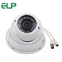 720P IR Waterproof Outdoor 2 8 12mm Varifocal Ahd Dome Cctv Camera ELP 5110HD