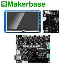 Мощный 32 бит клонированный Duet2 материнская плата с WIFI 4,3 дюймов Pandue сенсорный экран для коссель Ultimaker corexy 3D принтеры ЧПУ машины