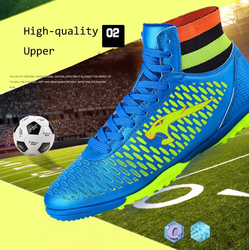 2017 High Ankle Superfly Boys Kids Football Boots Cheap Indoor Soccer Shoes Cleats Girls Sneakers High Quality voetbalschoenen2