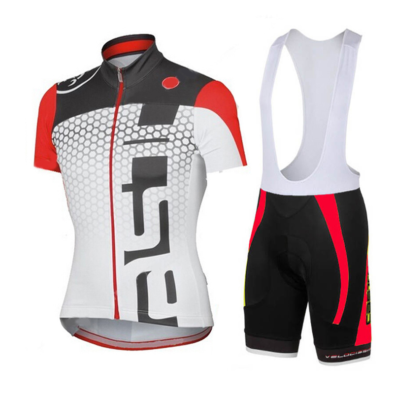 Men's Cycling Jersey 2018 Pro Team Red White MTB Bike Clothes Sport Jerseys Summer Bicycle Clothing Maillot Ropa Ciclismo Suit jersey suit summer mtb cycling clothing short sleeve pro team men s racing bike clothes maillot ropa ciclismo maillot breathable