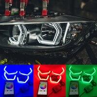 WIFI RGB Multi Color M4 Iconic Style LED Crystal Angel Eye light Kits for BMW 4 series F32 435i 428i 420d 420i 440i 430i 2013 18