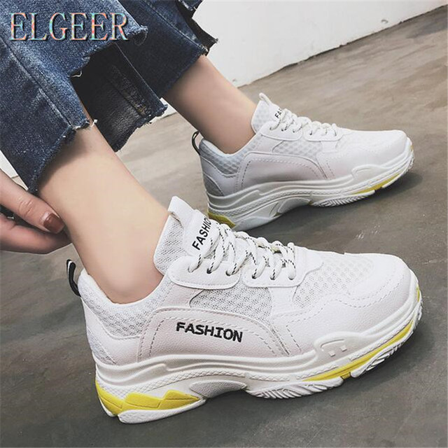 5903cc1fadc Walking Driving Shoes Lightweight new Pairs Outdoor Street Fashion Casual  dad Sneakers Women Mesh Breathable Trainers Shoes