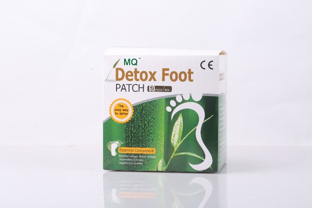 Adhesives Detox Foot Patch 120 Piece=60pcs Patches+60 pcs Adhesives Foot Patch