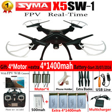 100% Original SYMA X5SW WIFI RC fpv Quadcopter Drone con cámara Sin Cabeza 2.4G 6-Axis RC Helicóptero Quad copter En Tiempo Real juguetes