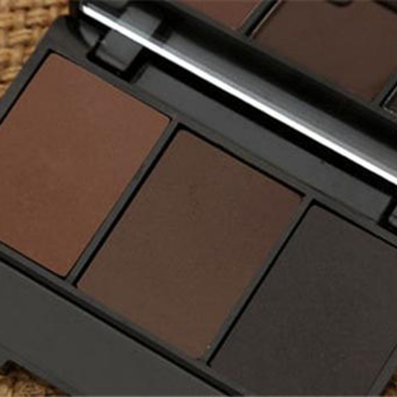 3 Colors Set Professional Makeup Eyeshadow Palette Eyebrow Makeup Palatte paleta de sombra Contour Palette Maquiagem Women 13