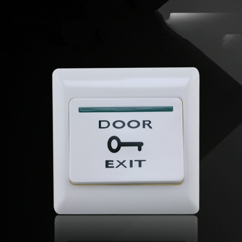 Brand New DC12V Push Exit Release Button Switch For RFID Door Access Control System Accessories Fast DeliveryBrand New DC12V Push Exit Release Button Switch For RFID Door Access Control System Accessories Fast Delivery