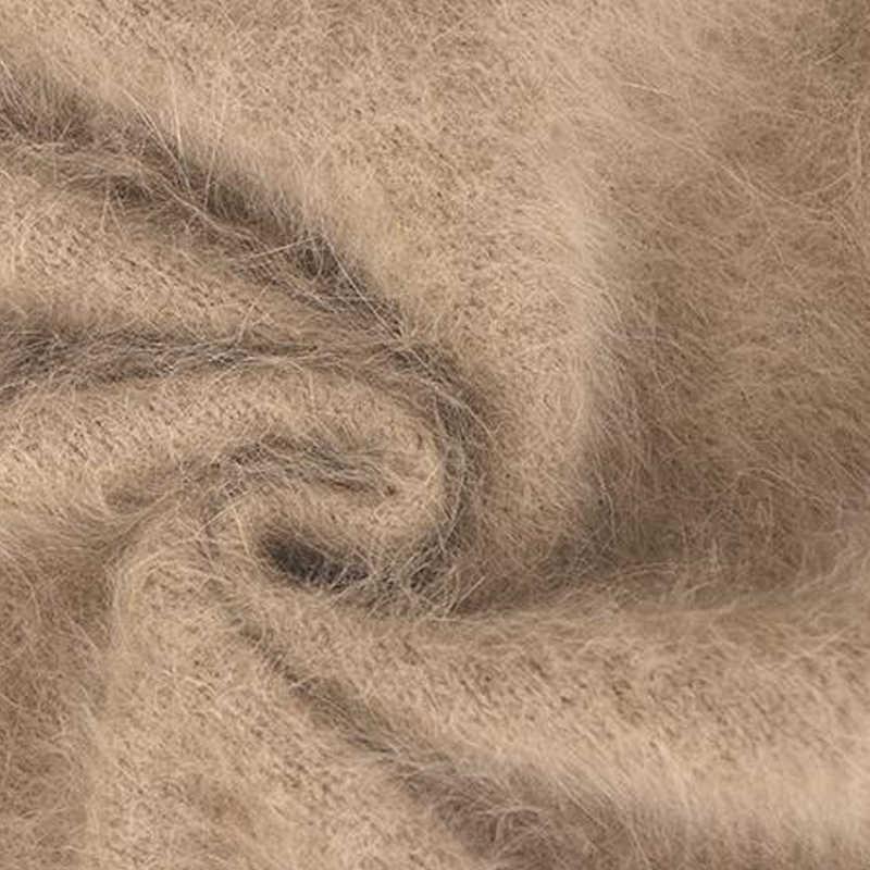 2019 Baru Kualitas Terbaik 100% Real Mink Kasmir Sweater Gaun Wanita Pullover Sweater Kasmir Wanita Seksi Wsr574