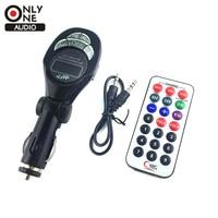 New High Quality Fashion Black Car MP3 Player FM Transmitter USB Pen Drive For SD MMC