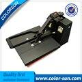 Manual high pressure plain heat press machine for T-shirt or clothes printing machine