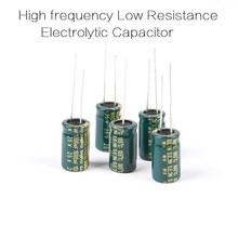 100pcs Low ESR Capacitor 25V 1000UF for FPV ESC or Flight Controller