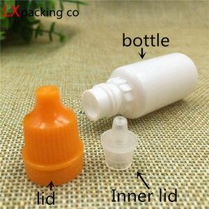 Image 3 - Bộ 100 Miễn Phí Vận Chuyển 5 10 20 Ml Nhựa Trắng Mắt Thả Chai Tinh Chất Parfums Canh Nước Lỏng Bỏ Trống đựng Mỹ Phẩm Dung Lượng