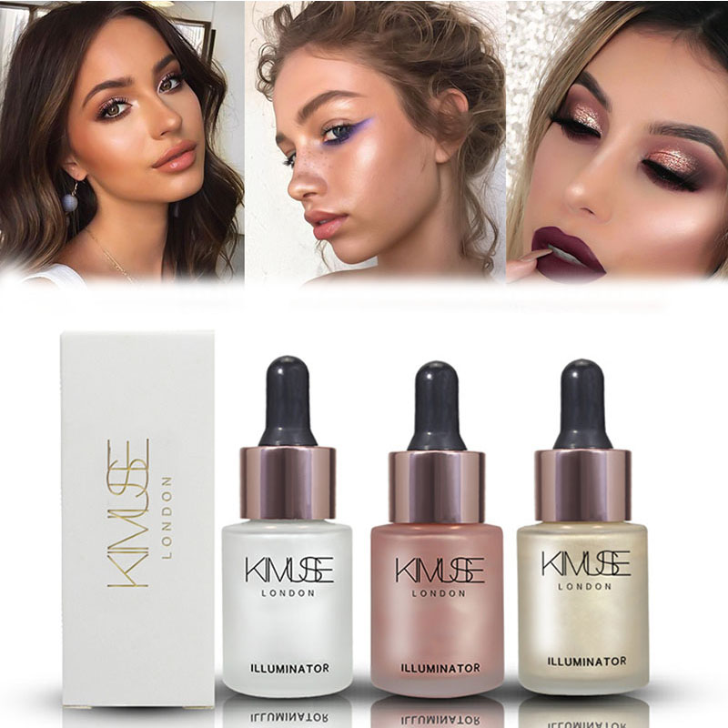 KIMUSE Illuminator Contour Highlighter Concealer Cosmetics Maquiagem Makeup Highlighter Cream Concealer Shimmer Body Face