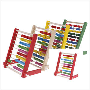 ZTOYL Kids Baby Wooden Abacus Toys Educational Children's