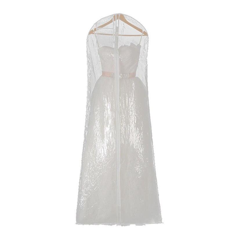 Wedding Dresses Bags Cover Storage Dust Proof Clothes Suit Garment Dress Clear