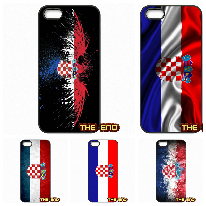 For Apple iPhone 4 4S 5 5C SE 6 6S Plus 4.7 5.5 iPod Touch 4 5 6 National Flag Retro Croatia Flag Phone Case Cover Coque