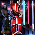 90CM Star Wars Lightsaber Darth Vader Anakin Skywalker ObiWan KyloRen YodaStar Wars Light Saber Mint Sound Light Saber boys gift