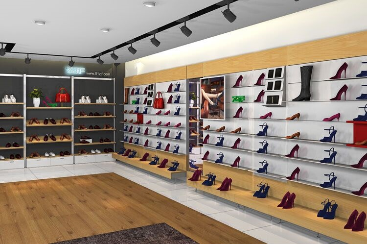 shoes store display furniture shop MDF showcase cloth store ...