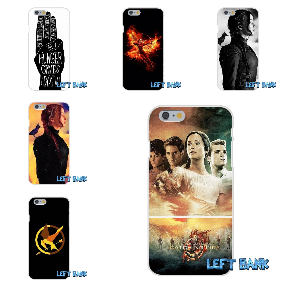 For iPhone 4 4S 5 5S 5C SE 6 6S 7 Plus The Hunger Games Soft Silicone TPU Transparent Cover Case