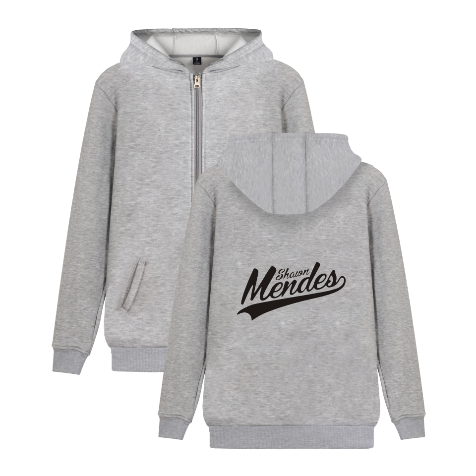 Shawn Mendes Hoodies With Zipper Women Ms