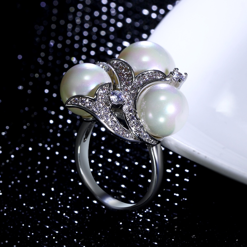Ring Setting With Pearl