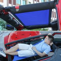 Car Accessories Car Roof Hammock Rest Bed for Jeep Wrangler 2007 2017