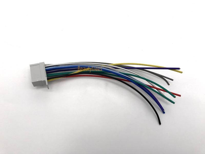 ISO Standard HARNESS for PANASONIC 123 Power & Speakers Radio Wire ...