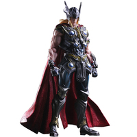 26CM Marvel Thor Acengers Age of Ultron Thor PVC Action Figure Collectible Movies Anime Kids Gift with Box Model Toy