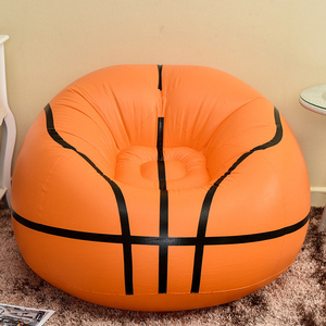 Image 5 - Football Inflatable Sofa Soccer Ball Air Lounge Chair Basketball Beanbag Lounger PVC Inflatables Furniture Garden Home Office