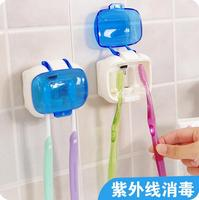 Portable Ultraviolet Toothbrush Sterilization Box Wall Toothbrush Holder Toothbrush Storage Rack