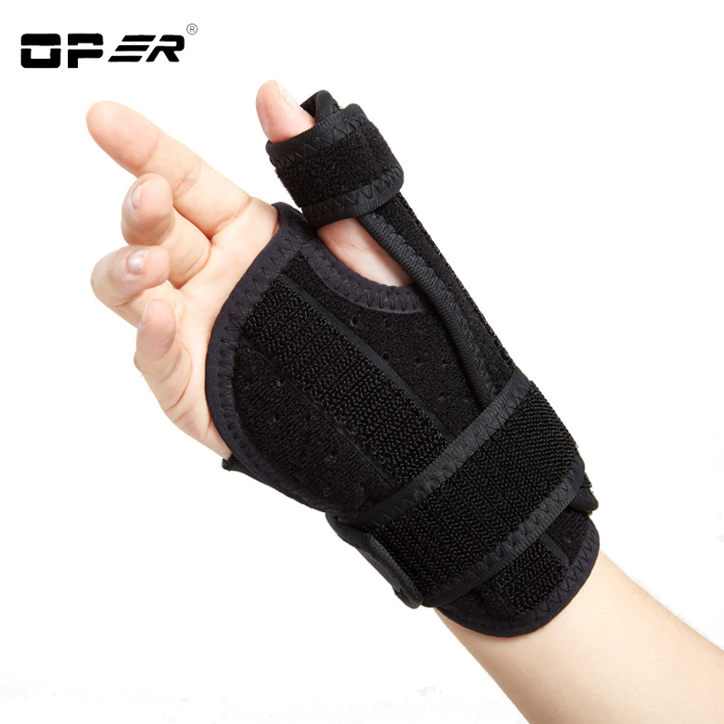 OPER Medical Wrist Support Wrap Splint Brace Wrist Sprain Finger Correction Tenosynovitis Wristbands Protection Thumb Pads WO 23