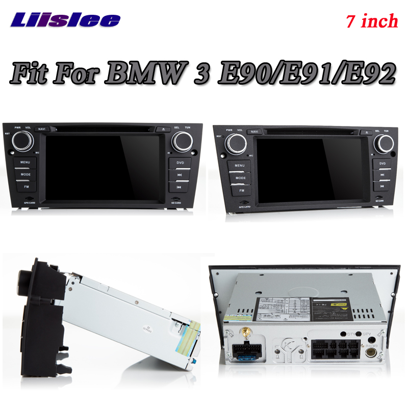 Liislee For BMW 3 E90 E91 E92 Stereo Radio 3G BT Canbus DVD Player GPS MAP Navigation 1080P HD Screen System Original NAV Design