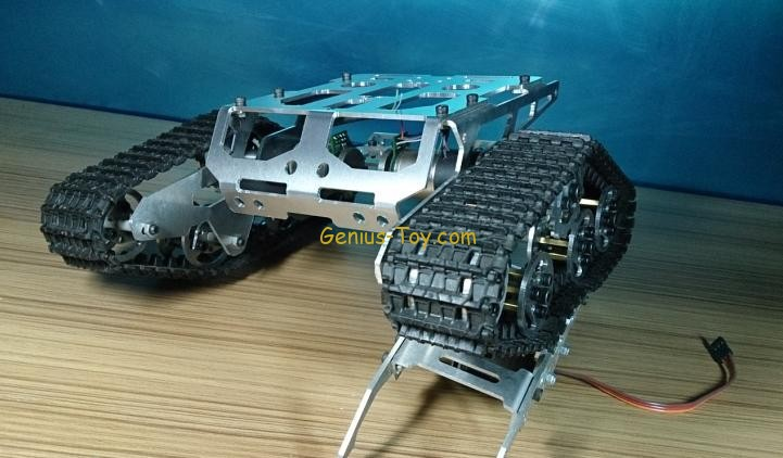 Aluminuim Alloy Wali tracked tank Chassis DIY robot smart car chassis SN1500 diy tracked vehicle robot obstacle crossing chassis smart tank car