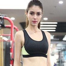 Women Padded Wirefree Fitness Sports Bra Gym Running Jogging Yoga Crop Top Tennis Vest Drop Shipping