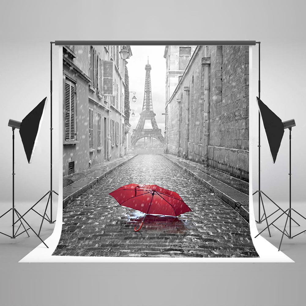 Valentine's Day Photography Background Red Umbrella Party Photo Backdrops Gray Stone Brick Floor Backgrounds for Photo Studio allenjoy photography backdrops white and gray brick wall brick floor backgrounds for photo studio photography studio backgrounds